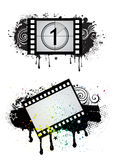 Movie theme illustration Royalty Free Stock Photo