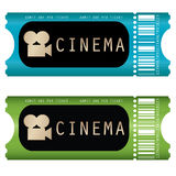 Movie ticket Stock Images