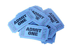 Movie Tickets Stock Photos