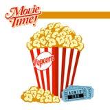 Movie Time! Royalty Free Stock Photos