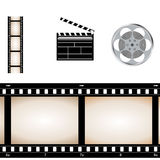 Movie video set Royalty Free Stock Photo