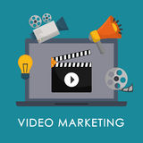 Movie and videofilm entertainment Stock Image