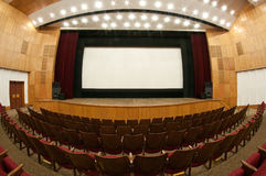 At the movies Stock Image