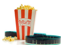 At the Movies Royalty Free Stock Images