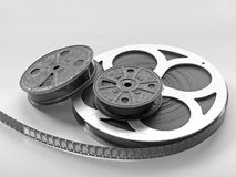 Movies. Movie reels Royalty Free Stock Images