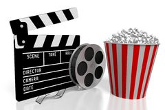 Movies, cinema concept Royalty Free Stock Photo