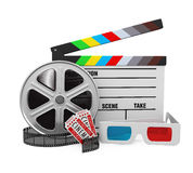 Movies Cinema Concept Royalty Free Stock Images