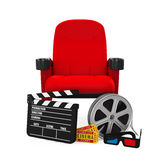 Movies Cinema Concept Royalty Free Stock Photography