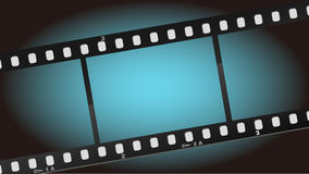 Movies Film Blue Light Background Stock Images