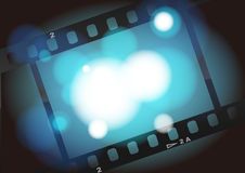 Movies film light background Royalty Free Stock Photography