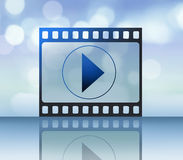 Movies online Royalty Free Stock Photography