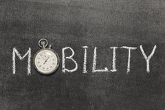 movilidad Imagen de archivo libre de regalías
