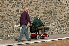 Movilidad para el lisiado Imagen de archivo