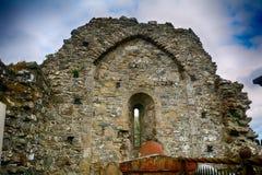 Movilla-Abteiruinen, Newtownards, Nordirland Lizenzfreie Stockfotos