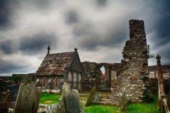 Movilla-Abteiruinen, Newtownards, Nordirland Lizenzfreies Stockbild