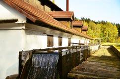 Movimentação da água ao martelo de água Imagens de Stock Royalty Free