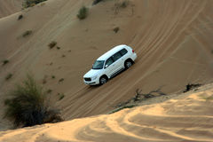 Movimentação da aventura do deserto Foto de Stock