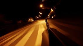 Movimentação da noite vídeos de arquivo
