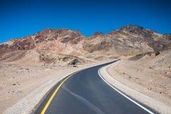 Movimentação da paleta do artista em Death Valley Fotos de Stock