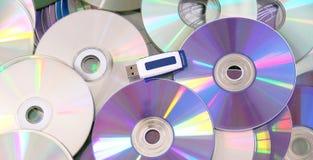 Movimentação da pena do USB do armazenamento Imagem de Stock Royalty Free