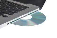 Movimentação de disco do computador Foto de Stock Royalty Free