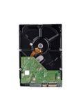 A movimentação de disco duro da placa é o armazenamento de dados para o computador de dados digitais na tecnologia branca do disc Imagens de Stock Royalty Free