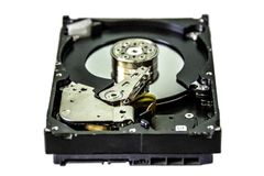 Movimenta??o de disco duro do computador pessoal imagem de stock royalty free