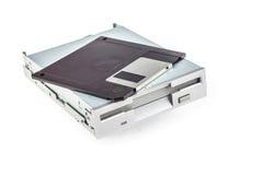 Movimentação de disco flexível e disquete imagem de stock royalty free