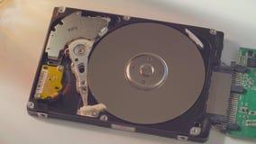 A movimentação de disco rígido vídeos de arquivo