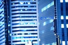 Movimentação de N Columbo Imagem de Stock Royalty Free