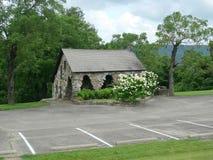 Movimentação de Talimena, rainha Wilhelmina State Park, casa de pedra Fotografia de Stock Royalty Free