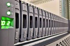 Movimentação do armazenamento de dados  Foto de Stock Royalty Free