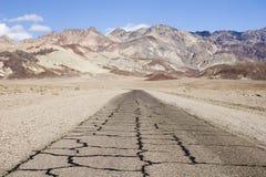 Movimentação do artista, Death Valley, Califórnia foto de stock royalty free