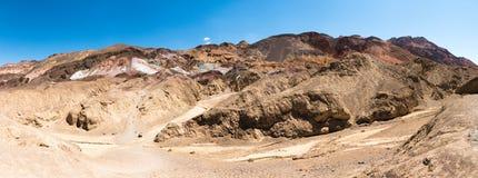 A movimentação do artista, parque nacional de Vale da Morte, EUA Imagem de Stock