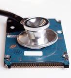 Movimentação do disco rígido do computador Foto de Stock