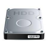 Movimentação do disco rígido (HDD) Fotografia de Stock