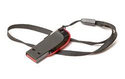 Movimentação do flash de USB Foto de Stock