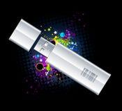Movimentação do flash do USB Fotos de Stock Royalty Free