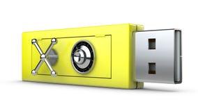 Movimentação do flash do USB Fotos de Stock