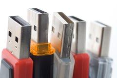 Movimentação do flash do USB Imagens de Stock Royalty Free