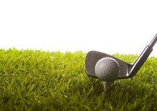 Movimentação do golfe foto de stock