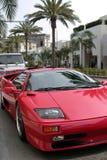 Movimentação do rodeio, Beverly Hills Imagem de Stock Royalty Free