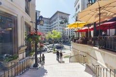 Movimentação do rodeio em Beverly Hills imagem de stock royalty free