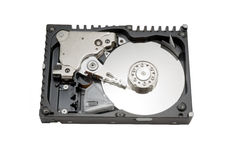 Movimentação HDD do disco rígido Fotografia de Stock Royalty Free