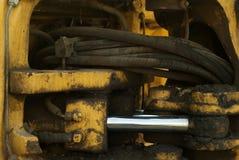 Movimentação hidráulica fotografia de stock royalty free