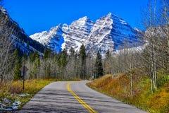 Movimentação marrom da montanha de Bels Fotos de Stock