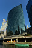Movimentação ocidental de 333 Wacker - Chicago Imagens de Stock Royalty Free