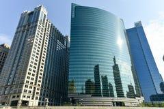Movimentação ocidental de 333 Wacker - Chicago Imagem de Stock Royalty Free