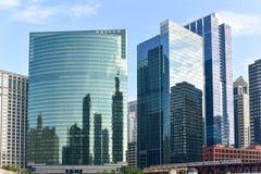 Movimentação ocidental de 333 Wacker - Chicago Imagem de Stock