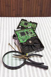 Movimentações de disco rígido Imagem de Stock